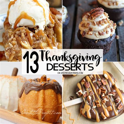 best thanksgiving desserts easy holiday ideas