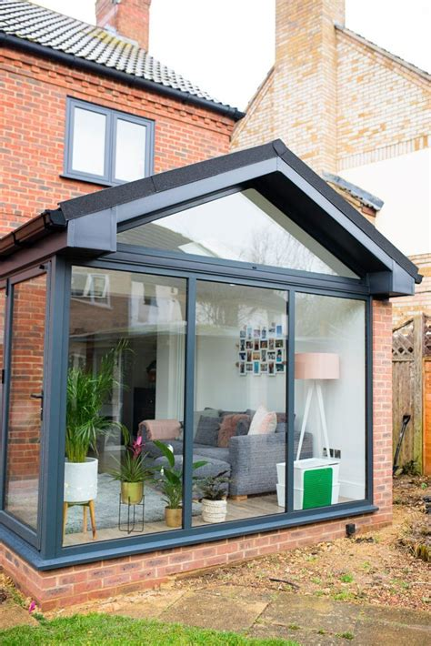 Haus Einrichtung 4058 by Our Modern Conservatory Extension Before And After Home