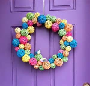 14 colorful wreaths you can make home and garden