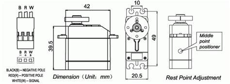 Rc servo motor datasheet pdf download