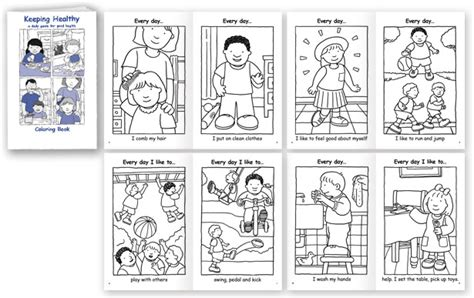 7 Habits Coloring Pages by Search Results For Healthy Habits Worksheets Calendar 2015
