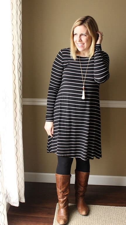 swing dress with tights my minimalism style remixing a swing dress the style files