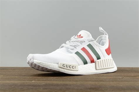 2017 cheap adidas originals nmd x gucci white running shoes s70162 for sale cheap adidas yeezy