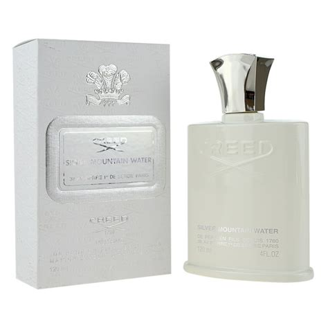 creed silver mountain water eau de parfum for 120 ml