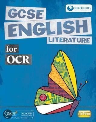 gcse english literature for 1107454557 bol com gcse english literature for ocr student book donald coleman annie fox