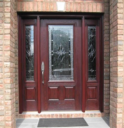 Exterior Doors With Side Panels Side Panel Doors Royal Home Products Inc Serving Island Since 1989