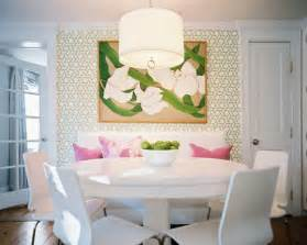 Banquette Seating Dining Room Via Prairie Perch