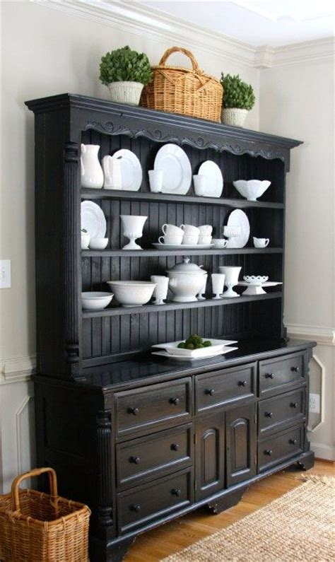 kitchen hutch decorating ideas best 25 black hutch ideas on painted china