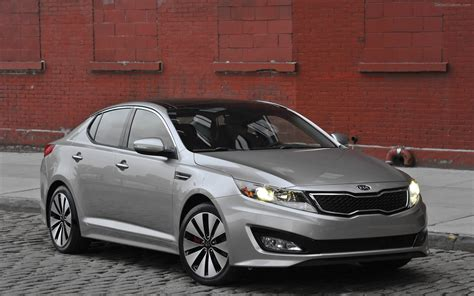 Kia Optima Hybird Kia Optima Hybrid 2011 Widescreen Car Wallpapers