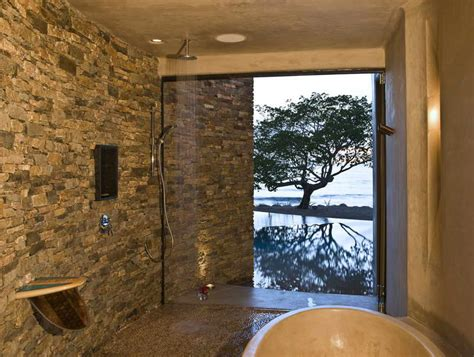 bathtub inside shower stone shower walls an instant trick to transform a flat