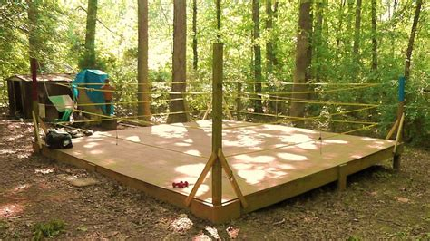 backyard wrestling rings boxing ring