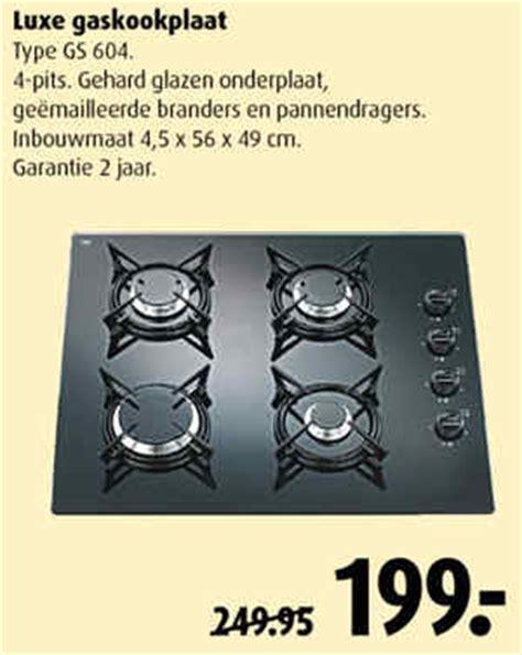 inbouw gaskookplaat karwei gaskookplaat praxis keukenarchitectuur