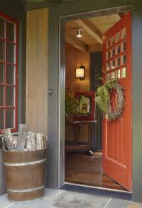 Rustic entry by birmingham architects amp building designers dungan