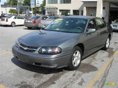Gray Ls 2005 medium gray metallic chevrolet impala ls 1872577