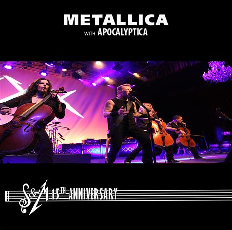 s and m metallica s and m 15th anniversary by 1992zepeda on