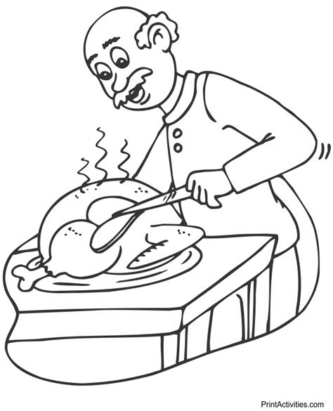 printable turkey leg turkey legs for coloring coloring pages