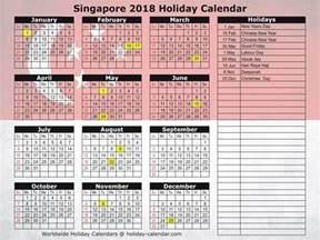Year 2018 Calendar Singapore Singapore 2017 2018 Calendar