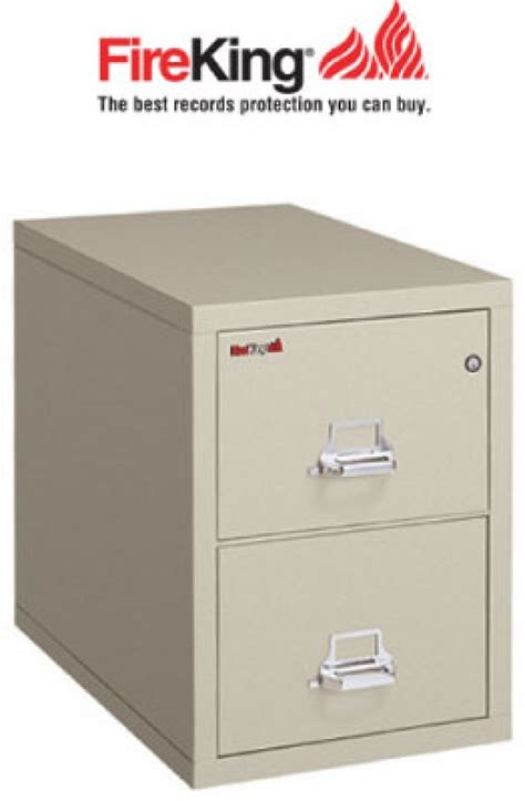FireKing 2 2131 C, Two Drawer Fire File Cabinet with