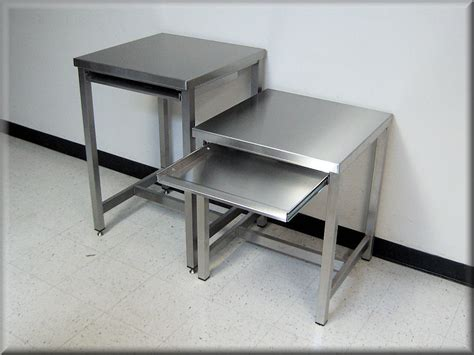 bench and tables rdm stainless steel table model a109p ss