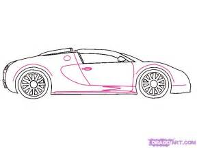 How To Draw A Bugatti Step By Step How To Draw A 2010 Bugatti Veyron Step By Step Cars