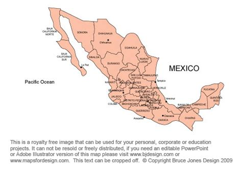 map of mexico provinces mexico map royalty free clipart jpg