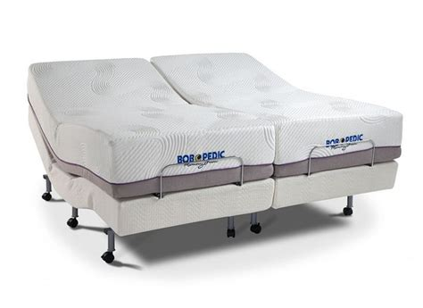 power bob  bob  pedic dual king set adjustable beds