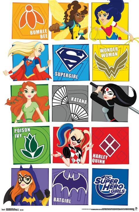 Wall Sticker Online Shopping dc super hero girls grid