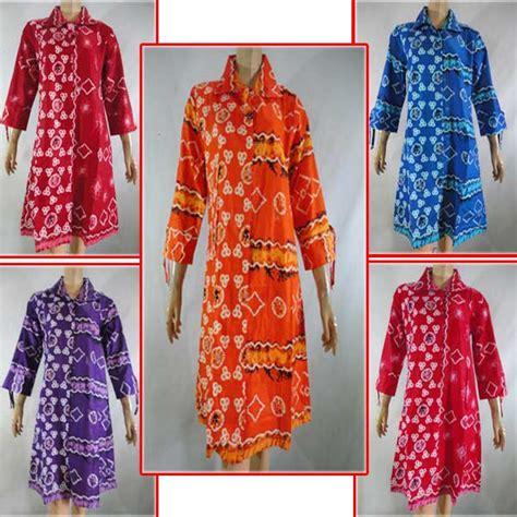 Daster Batik Prabu Tali Kecil blus batik tunik tali 03 pusat grosir batik toko pakaian jual grosir murah batik