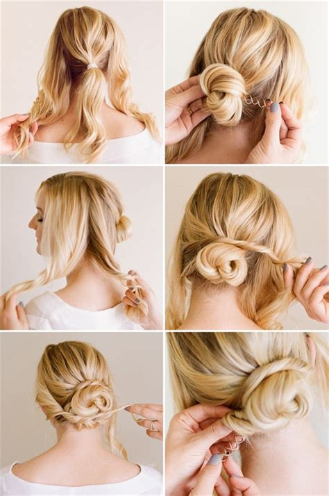 Do It Yourself Wedding Hairstyles For Medium Hair by Easy Wedding Hairstyles You Can Do Yourself Hair World