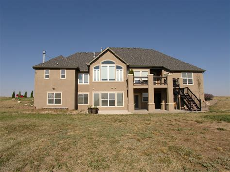 ranch with walkout basement rooms
