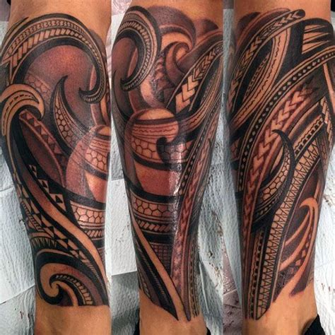 tribal calf tattoo designs best 25 polynesian leg ideas on maori
