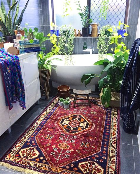 bathroom in farsi persian rug in the bathroom to add warmth page 2 of 2