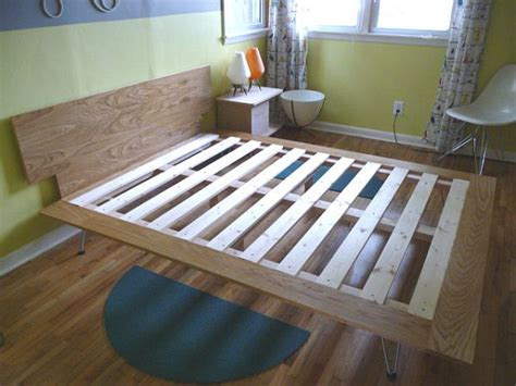 How To Build Your Own Bed From Scratch Three Tutorials Build Your Own Bed Frame