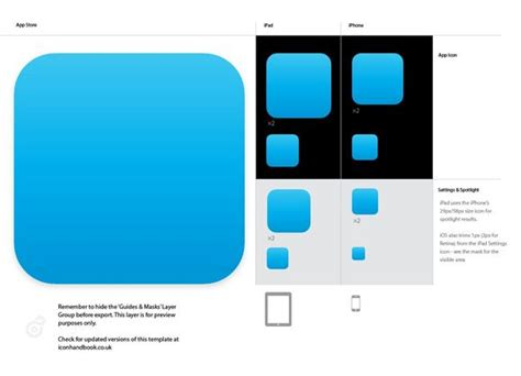 iphone app logo template 14 icon template images design template