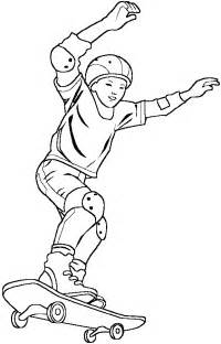 skate coloring pages skateboard coloring pages coloringpagesabc