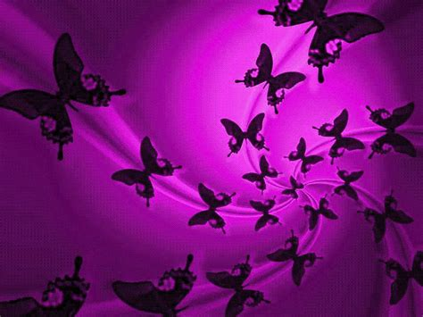 black heart themes purple butterfly backgrounds wallpaper cave