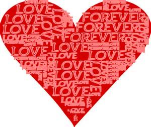 How To Make A Valentines Day Card - clipart forever love