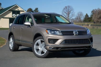 volkswagen touareg suv available years