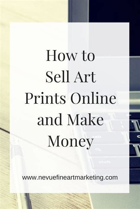 How To Make Money Selling Your Art Online - best 25 selling art ideas on pinterest selling online