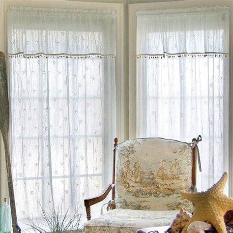 beachy curtain ideas 1000 ideas about beach cottage curtains on pinterest