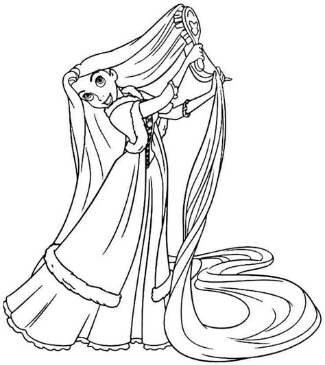 princess rapunzel coloring pages face az coloring pages