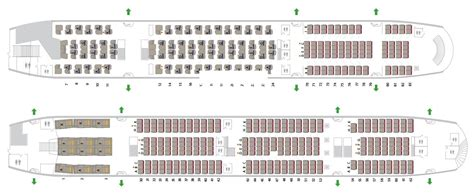 emirates airlines aircraft seating plans seating plan airbus a380 800 emirates brokeasshome