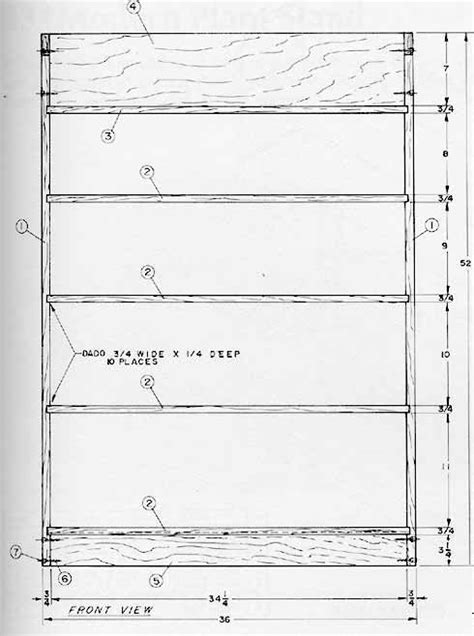 simple pine bookcase plans woodworking projects plans