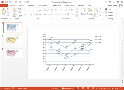 Line Graph Templates For Powerpoint Graph Templates For Powerpoint