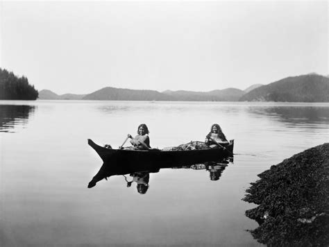 canoes cnv posterazzi clayoquot canoe c1910 ntwo clayoquot native