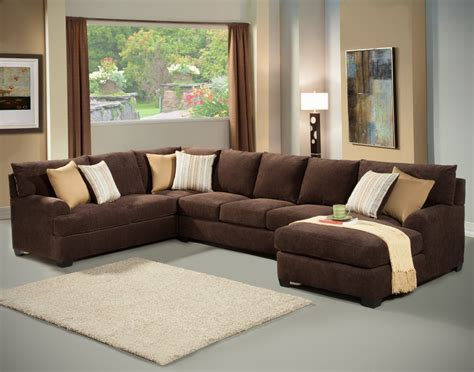 Microfiber Sectional Sleeper Sofa Microfiber Chaise Sleeper Sofa Centerfieldbar
