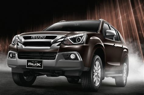 isuzu mu x facelift launched in thailand visuals only
