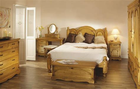 bedroom decorating ideas with pine furniture room