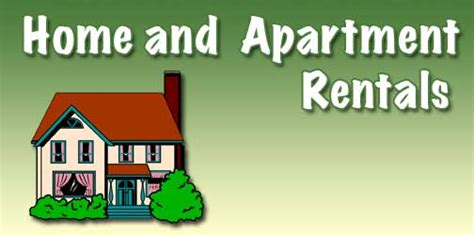 homes and apartments for rent