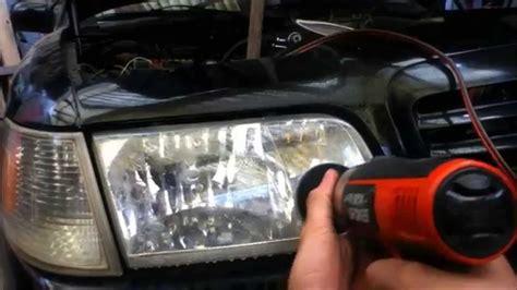 como pulir faros de auto como pulir un faro de auto doovi
